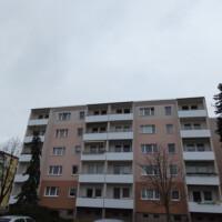Balkonseite (Südseite)