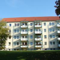 Haus-Balkonseite