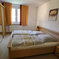 Bild Schlafzimmer Gästewohnung Becher-Straße